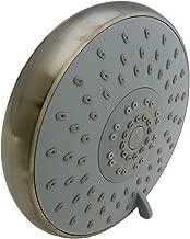 LASCO 08-5133 Rain Shower Head with Five Functions, Satin Nickel