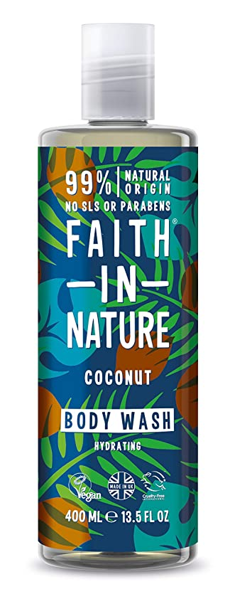 アッティカス何でも法的Faith in Natureココナッツボディウォッシュ
