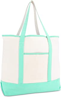 mint canvas tote