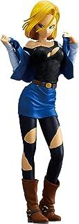 Banpresto Dragon Ball Z Glitter & Glamours Android 18 A Action Figure