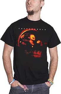 Soundgarden T Shirt Superunknown Album Cover Band Logo Official Mens Black