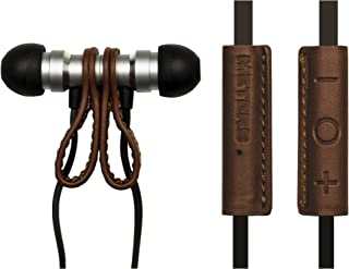 Meters Music M-EARS In Ear Earphones - Tan Leather (M-MAGNETIC-EARS-TAN)