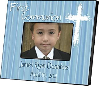 Personalized First Communion Picture Frame - First Communion Gifts - Personalized Picture Frame - Light of God