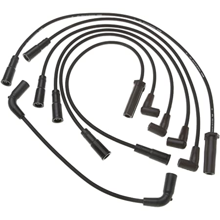 Walker Products 910-1796 Thundercore Spark Plug Wire Set