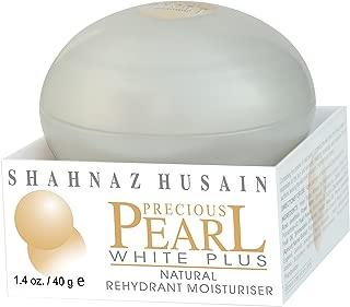 Shahnaz Husain Preciour Pearl White Plus Herbal Ayurveda Natural Rehydrant Moisturizer (1.4 oz / 40 g)
