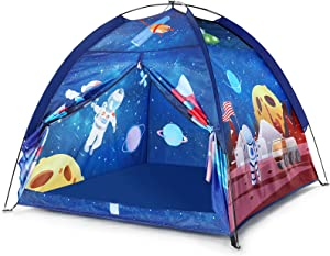 Kids Play Tent for Boys or Girls Space World Playhouse Toys, Kids Tent Indoor& Outdoor Games, Imaginative Play-Astronaut Space for Kid, Perfect Kid's Gifts
