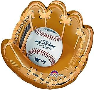 """Burton & Burton Mlb Glove Foil Balloon, 25"""""""