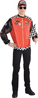 Fast Lane Driver Halloween Costume for Men, Standard, with Accessories