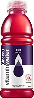 Glaceau Vitamin Water, XXX- Triple Berry, 500ml, (Pack of 12)