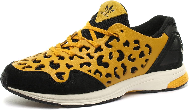 adidas Originals Zxzero Leopard Femme Baskets / Sneakers, Jaune ...