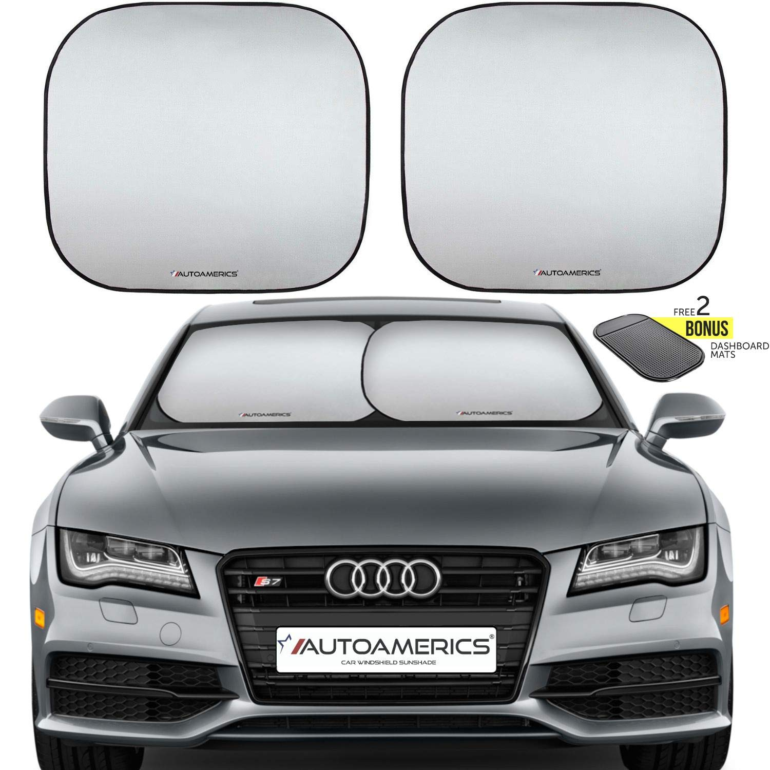 Autoamerics Windshield Sun Shade Reflector