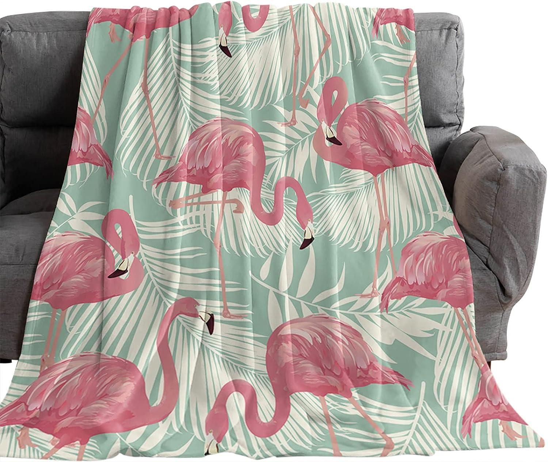 Queener Home Flannel Fleece Throw Max 76% OFF Summer Blanket Weekly update Animals Vintage