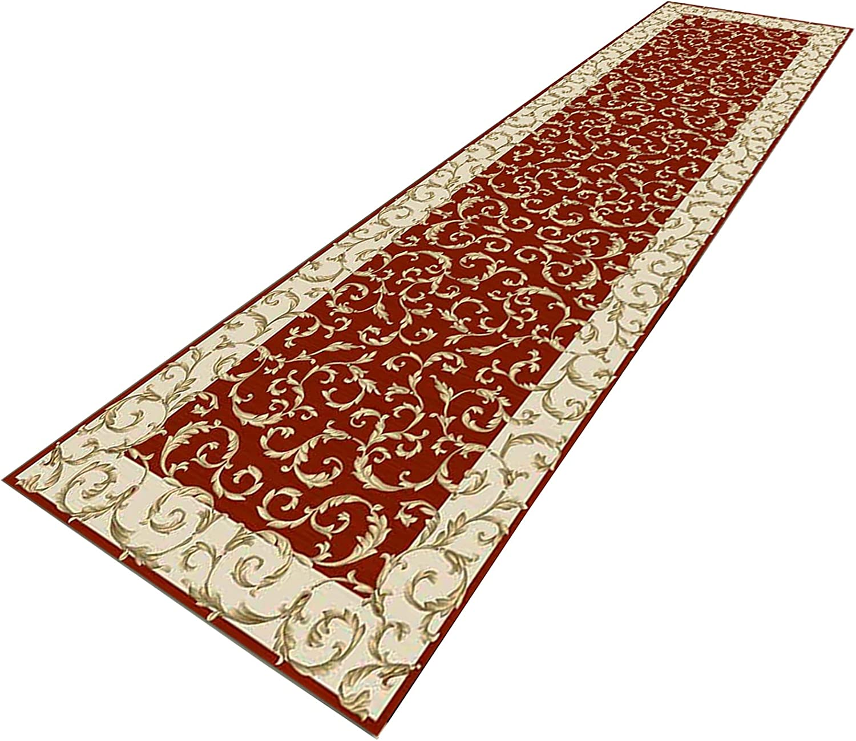 GUOTIAN Anti-Slip Corridor Carpet Retro 5% OFF Printed Rug Runner for Large discharge sale