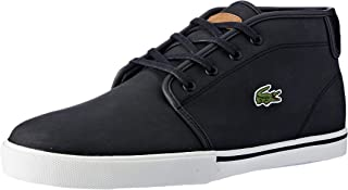 Lacoste Men's Ampthill 119 1 Men's Fashion Shoes, BLK/LT BRW