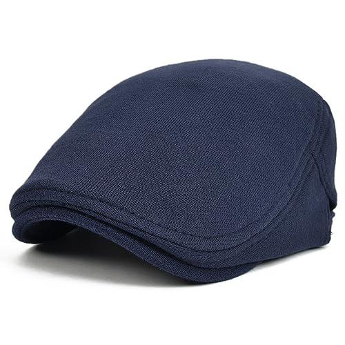 919b18a9730 VOBOOM Men s Cotton Flat Ivy Gatsby Newsboy Driving Hat Cap