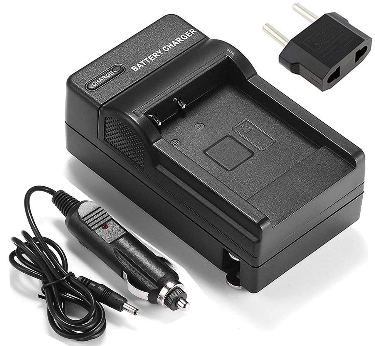Battery Charger for Canon LEGRIA FS20, FS21, FS22, FS200 Camcorder
