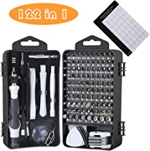 E·Durable Precision Screwdriver Set, 122 in 1 Computer Repair Tool kit with Case for..