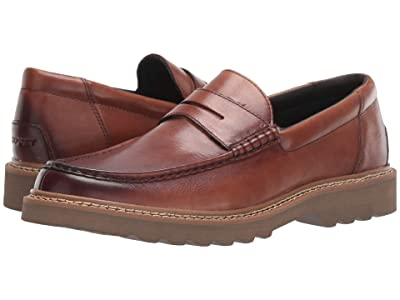 Rockport Peirson Penny Keeper (Cognac Leather) Men