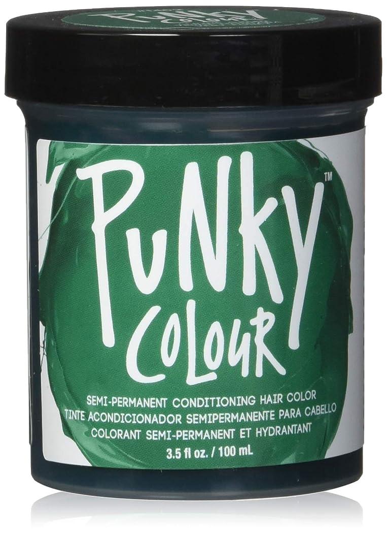 自明ブルジョンメキシコJEROME RUSSELL Punky Color Semi-Permanent Conditioning Hair Color - Alpine Green (並行輸入品)