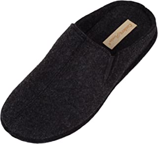 ABSOLUTE FOOTWEAR Mens/Gents Slip On Slippers/Mules/Indoor Shoes with Twin Gusset