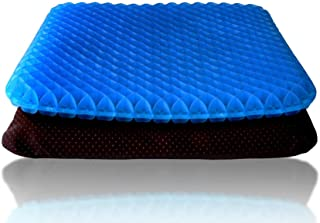 Gel Seat Cushion Egg Sitter Cushion As Seen On Tv for Pressure Sores Spine Gaming Office Desk Computer Car Hammock Travel ...