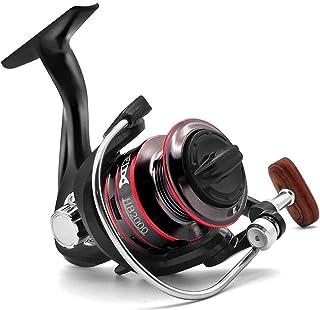 Joyday Fishing Reel, Spinning Reel, Ultralight 5.2:1 Gear Ratio, 12 Ball Bearings, 39.5LB Carbon Fiber Drag, Reversible Ha...