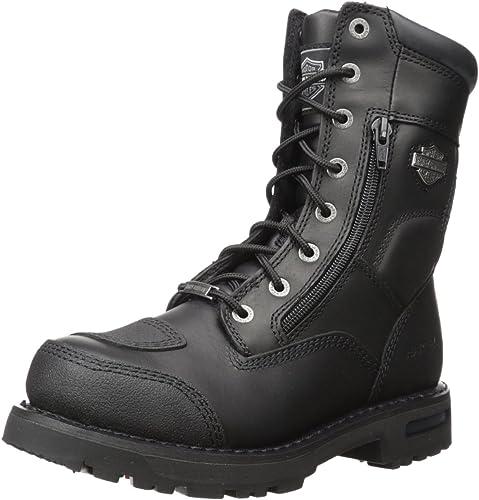 Harley-Davidson botas de Riddick para hombres, negro