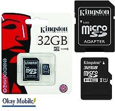 Original Kingston MicroSD Tarjeta SDHC Tarjeta de memoria 32GB para Samsung Galaxy Tab a 10.1(2016)