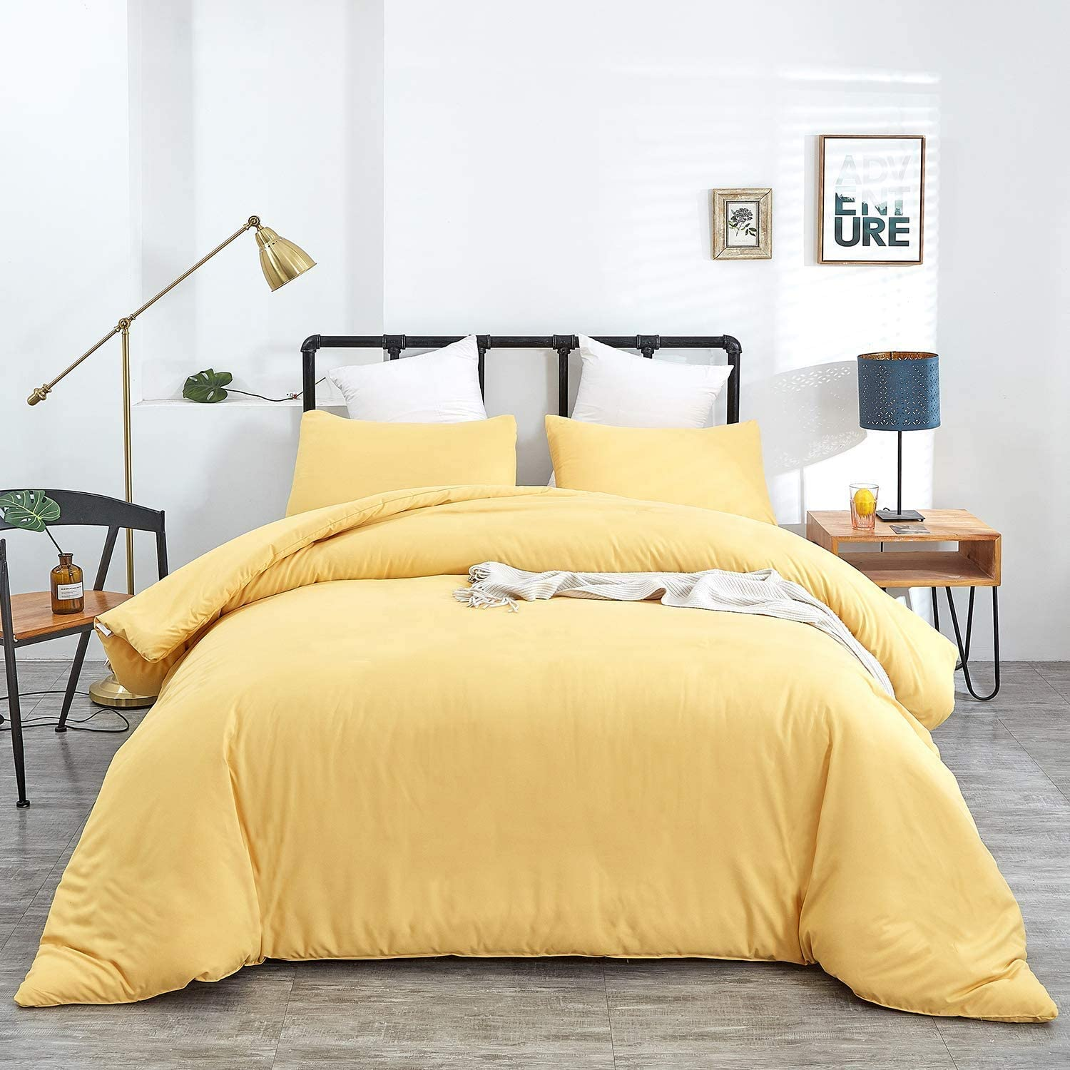 Jumeey Yellow Comforter It is very popular Set Twin Max 82% OFF Quilts Wom Light Bedding