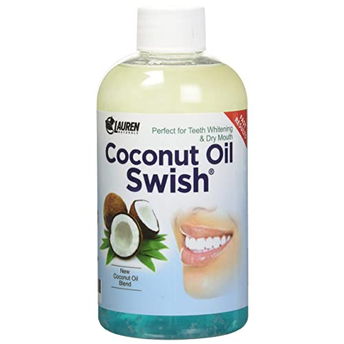 Coconut Oil Pulling Mouthwash: Great Dry Mouth remedy, & Oral Detox - Helps Resolve