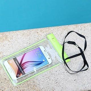 حافظة حقيبة مضادة للماء لجميع الهواتف الذكية - اخضر