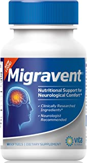 Migraine Relief Clinics Recommend Migravent as #1 Supplement to Support Optimal Cranial Comfort & Health, w...