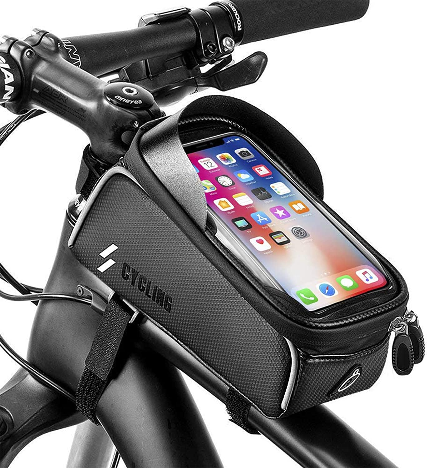 e0640c36e4403 6 Inch Waterproof Bike Mount for Phone Anti Shake, Stable Clamp with ...