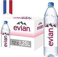 Evian Natural Mineral Water, 12 x 1.25l