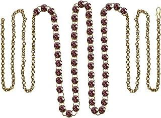Vidhya Kangan Belly Chains for Women (Pink) (bro190)