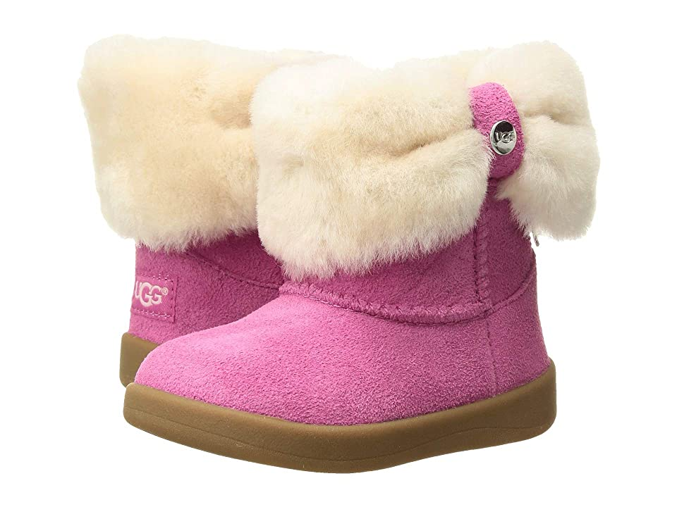 UGG Kids Ramona (Infant/Toddler) (Pink Azalea) Girls Shoes