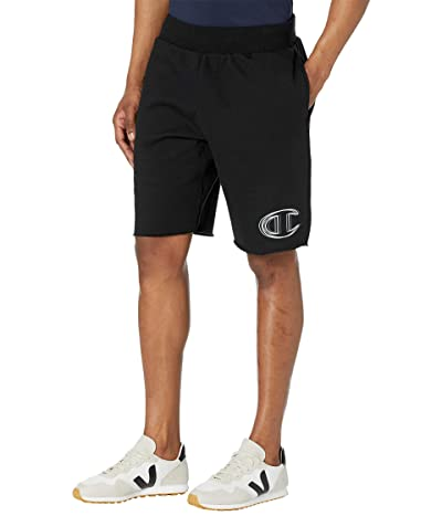 Champion LIFE Reverse Weave(r) Cutoff Shorts (Black) Men