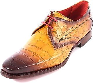 35dd1e02df8c Jeffery West Men's Hunger Howl Leather Lace Up Shoe Shadow Crust Coco Ocran