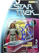 Star Trek Deep Space Nine: Warp Factor Series 2 Sisko as a Klingon 4 inch Action Figure