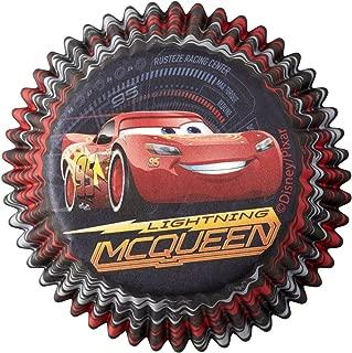 Wilton 415-7110 50 Count Disney Pixar Cars 3 Cupcake Liners, Assorted