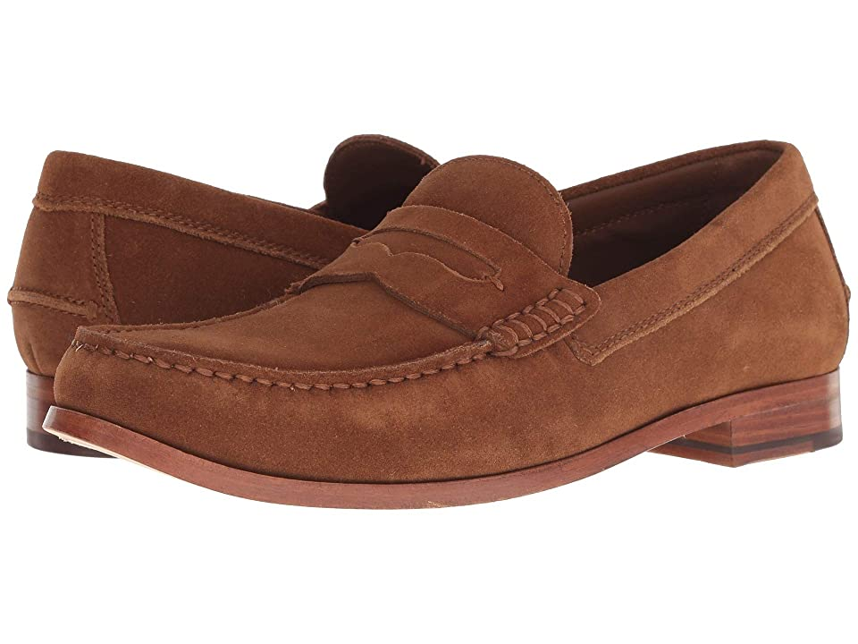 Men's Swing Dance Clothing, Vintage Dance Clothes Trask Sadler Snuff English Suede Mens Slip on  Shoes $195.00 AT vintagedancer.com