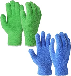 dusting venetian blinds
