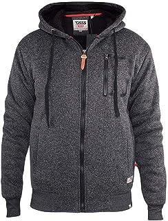 Duke D555 Mens Big Tall King Size Lakewood Sherpa Lined Jacket - Black Twist