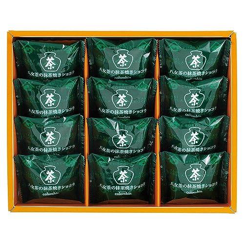 コロンバン 八女茶の抹茶焼きショコラ 12個入