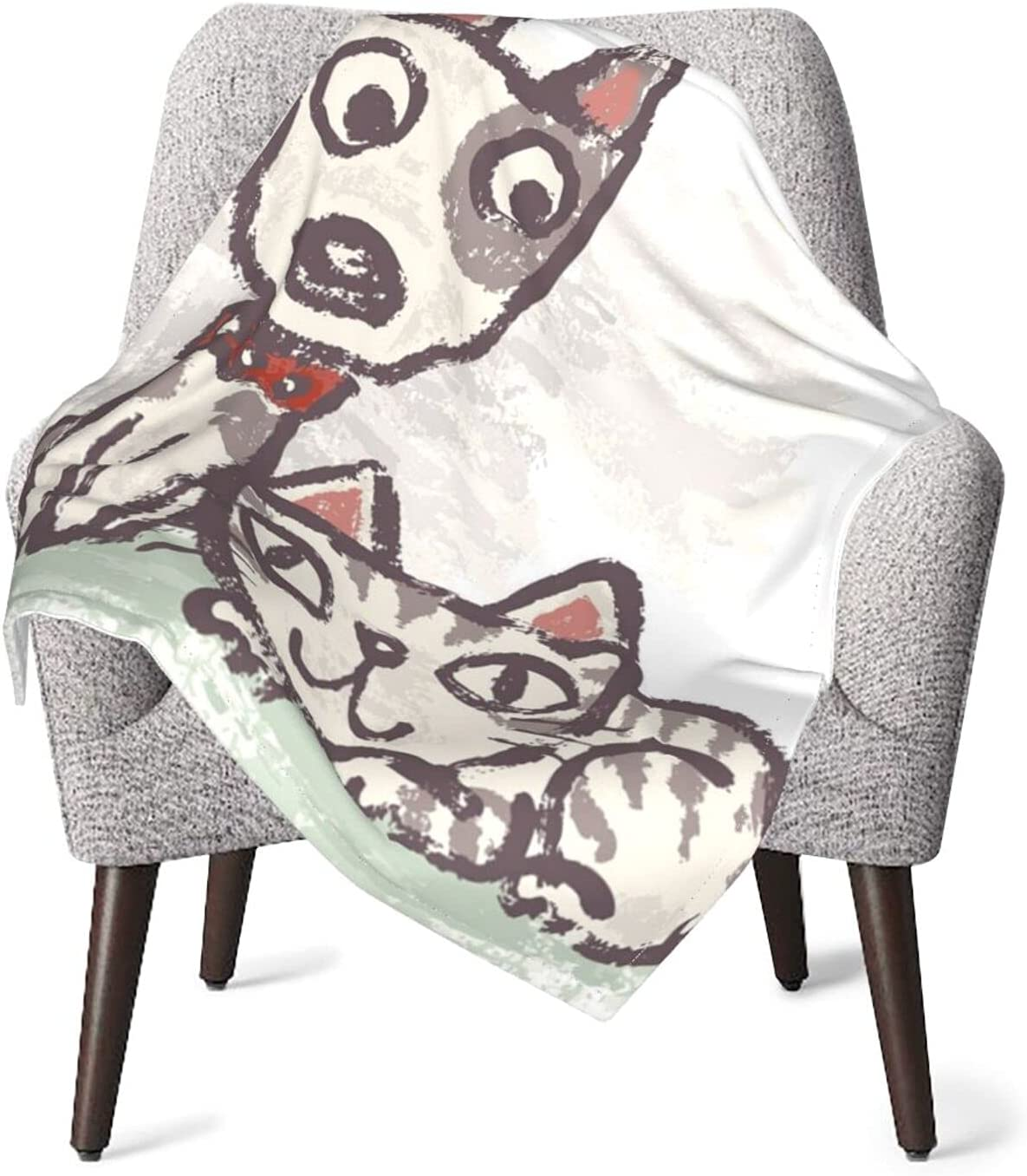 Life Sale of Dog and Cat Baby Max 71% OFF Unisex Bundle Blankets Receiving
