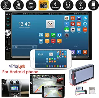 $51 » 2Din 7012B MP3 MP5 Player FM Car Radio Stereo Audio Music USB Digital Touch Screen Bluetooth AUX Input Player