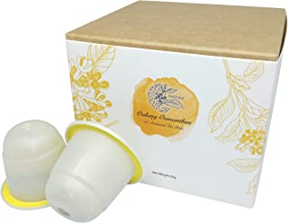Viśeṣa Oolong Osmanthus Tea Pods – Artisanal Blends Made with Real Oolong Tea Leaves and Osmanthus Flowers. Pack of 10 Com...