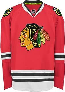 Reebok Chicago Blackhawks Edge Authentic Home NHL Hockey Jersey Size 50