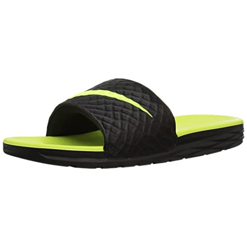 8d7ac5c4ed1f Nike Men s Benassi Solarsoft Beach   Pool Shoes Black