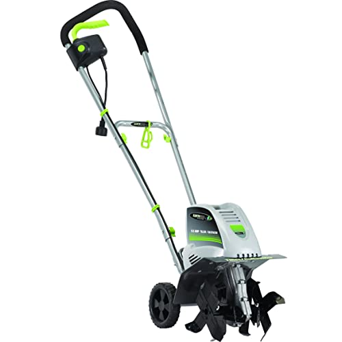 Earthwise TC70001 11 Inch 8.5 Volt Corded Electric Tiller/Cultivator, Amp,